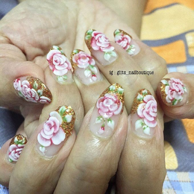 3d nail art by Brows To Toes - 004