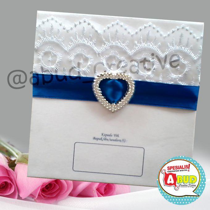 Elegant Ribbon Invitation by Abud Creative Design - 006