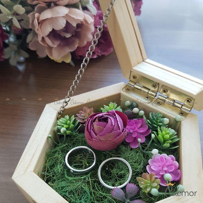 Hexa Box - Natural   Wedding Ring Bearer Box Indonesia - Celemor by Celemor - 007
