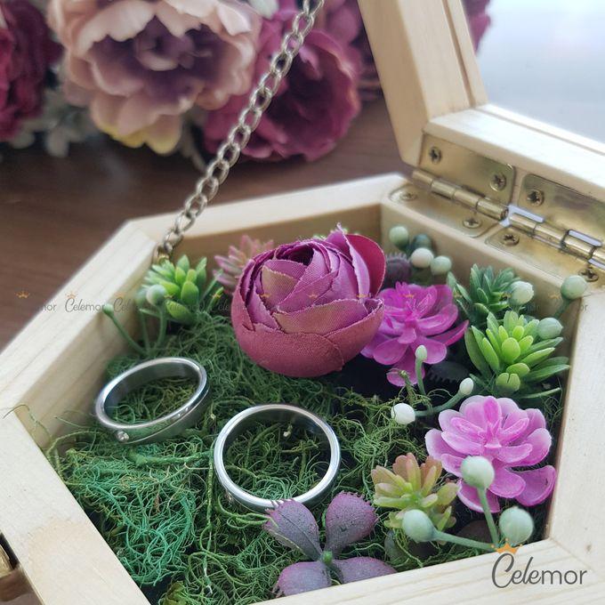 Hexa Box - Natural   Wedding Ring Bearer Box Indonesia - Celemor by Celemor - 008
