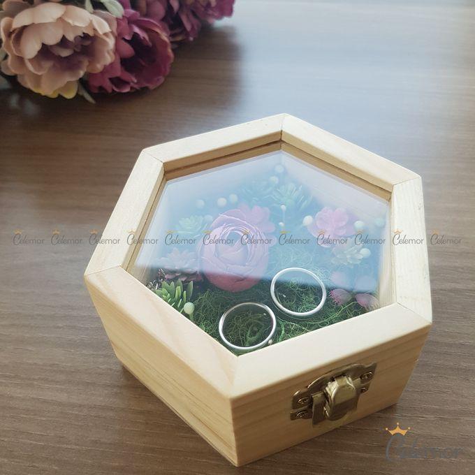 Hexa Box - Natural   Wedding Ring Bearer Box Indonesia - Celemor by Celemor - 010