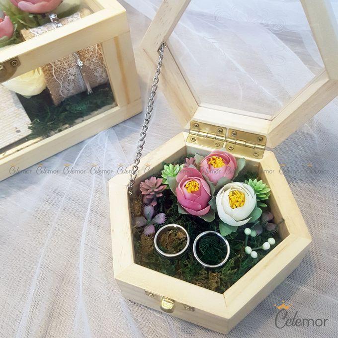 Hexa Box - Natural   Wedding Ring Bearer Box Indonesia - Celemor by Celemor - 012