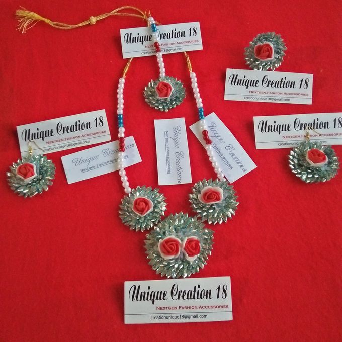 Handmade Gota Jewellery by Unique Creation 18 - 005