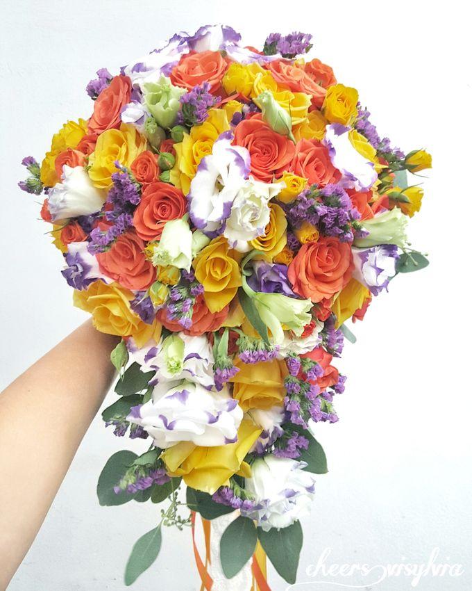 WEDDING BOUQUET  by visylviaflorist - 015