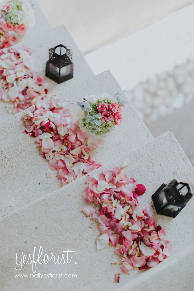 Wedding of Richardo & Hyewon by Bali Yes Florist - 002