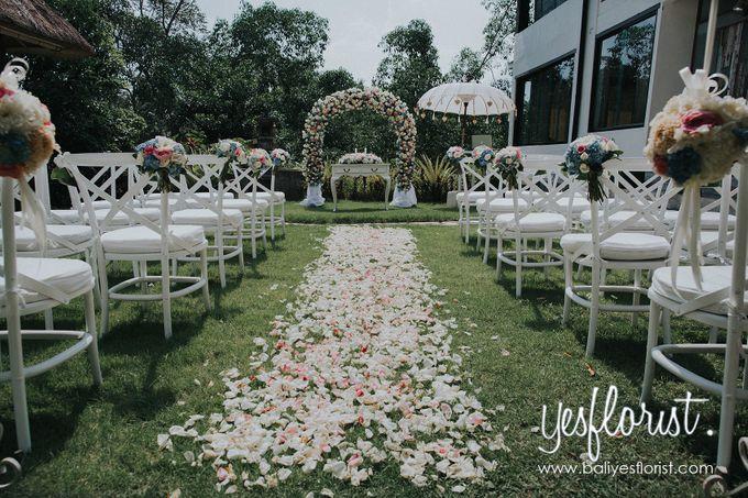 Wedding of Richardo & Hyewon by Bali Yes Florist - 003