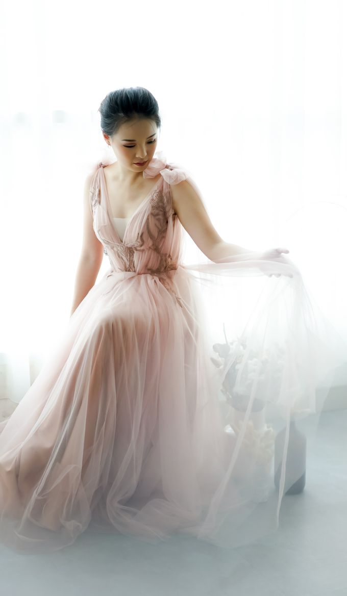 Wedding Gown by Le Clemmie by Amelia - 005