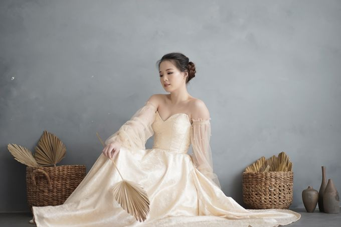 Wedding Gown by Le Clemmie by Amelia - 008