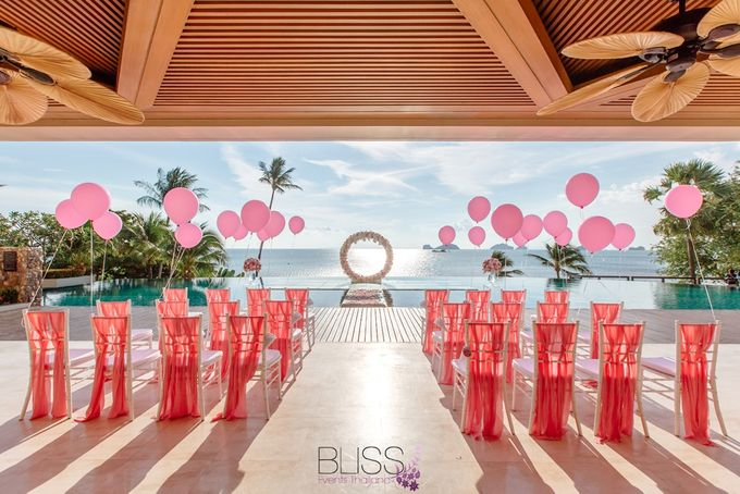 A wonderful over the water wedding at Conrad Koh Samui by BLISS Events & Weddings Thailand - 007