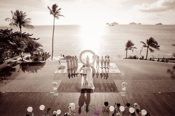 A wonderful over the water wedding at Conrad Koh Samui by BLISS Events & Weddings Thailand - 009
