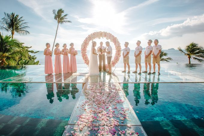 A wonderful over the water wedding at Conrad Koh Samui by BLISS Events & Weddings Thailand - 010