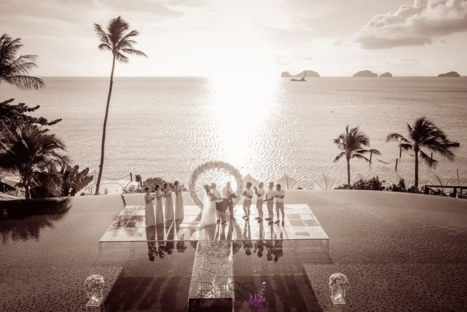 A wonderful over the water wedding at Conrad Koh Samui by BLISS Events & Weddings Thailand - 011