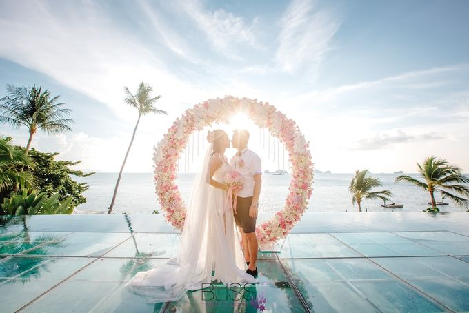 A wonderful over the water wedding at Conrad Koh Samui by BLISS Events & Weddings Thailand - 012