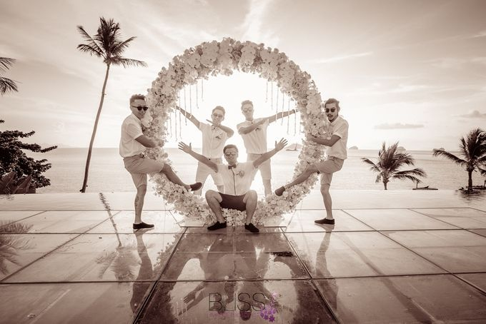 A wonderful over the water wedding at Conrad Koh Samui by BLISS Events & Weddings Thailand - 014