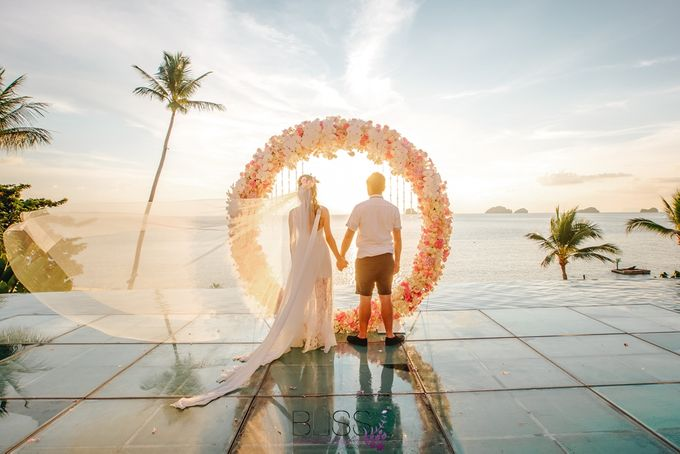 A wonderful over the water wedding at Conrad Koh Samui by BLISS Events & Weddings Thailand - 015