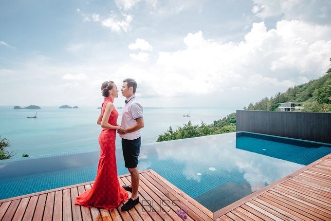 A wonderful over the water wedding at Conrad Koh Samui by BLISS Events & Weddings Thailand - 004
