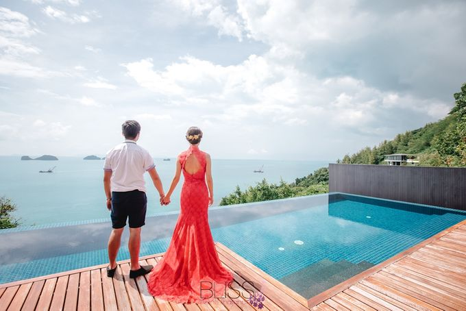 A wonderful over the water wedding at Conrad Koh Samui by BLISS Events & Weddings Thailand - 005
