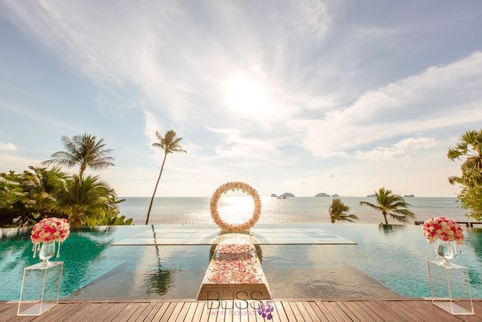 A wonderful over the water wedding at Conrad Koh Samui by BLISS Events & Weddings Thailand - 006