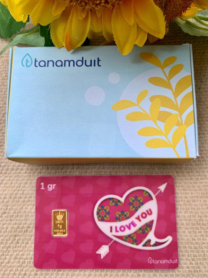 Emas Logam Mulia HRTA - I Love You 2 by tanamduit emas - 003