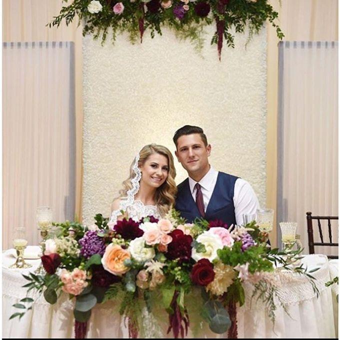 Romantic Wedding by Esmae Event Floral Design - 007