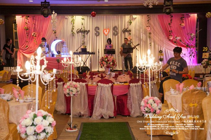 Stage Backdrop Design by Wedding And You - 017