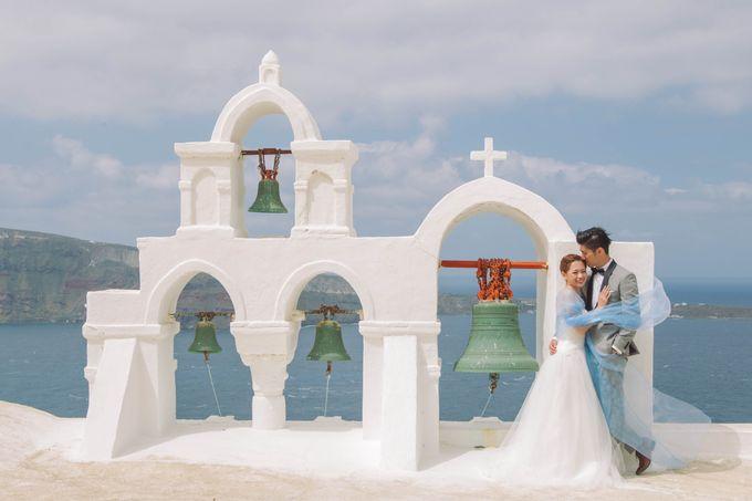 Xan & Natalie Santorini Engagement by Ian Vins - 006