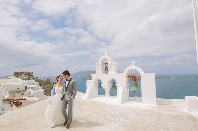 Xan & Natalie Santorini Engagement by Ian Vins - 008