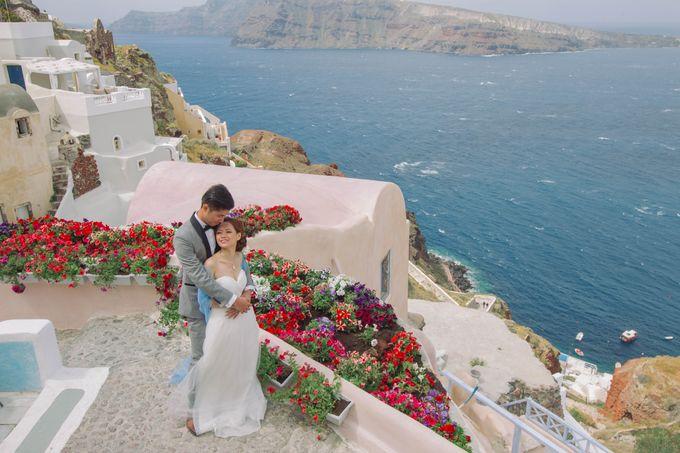 Xan & Natalie Santorini Engagement by Ian Vins - 013