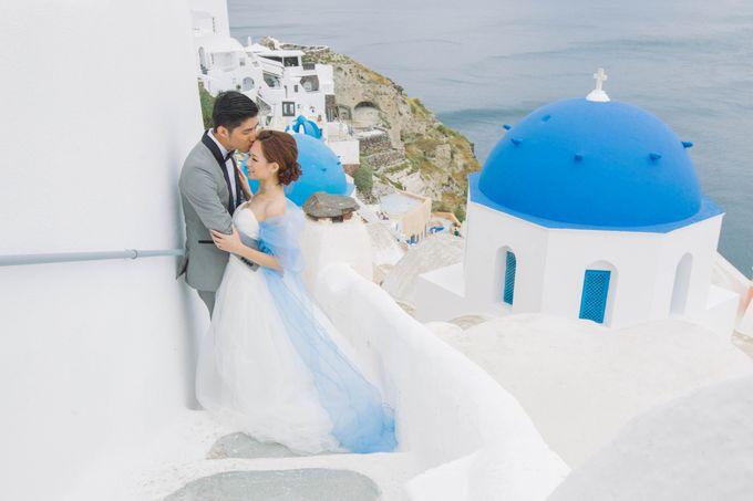 Xan & Natalie Santorini Engagement by Ian Vins - 002