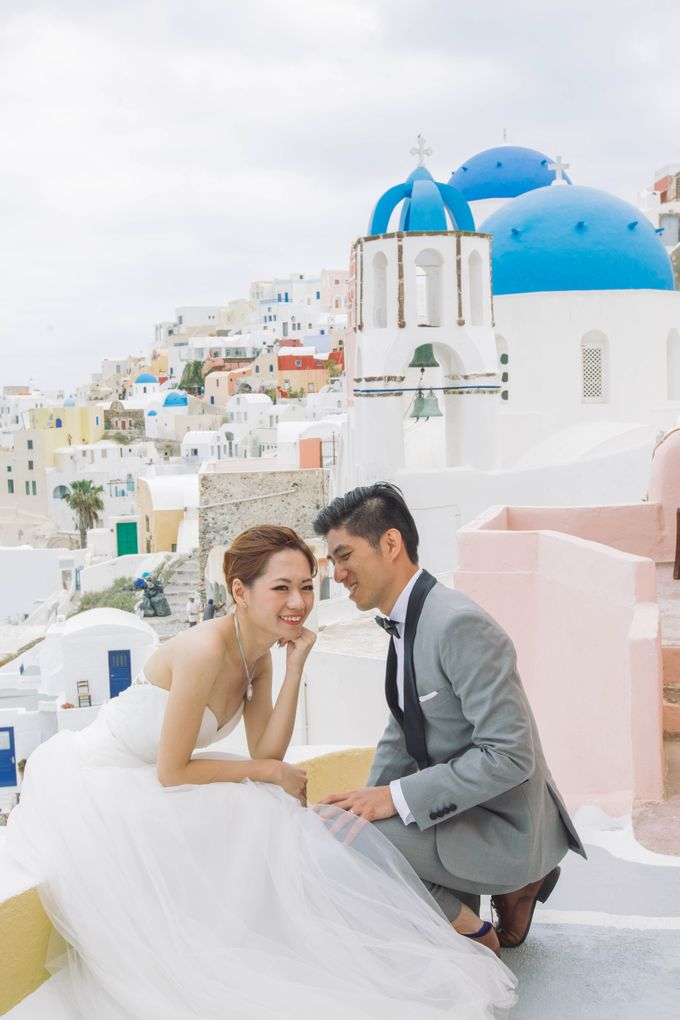 Xan & Natalie Santorini Engagement by Ian Vins - 003