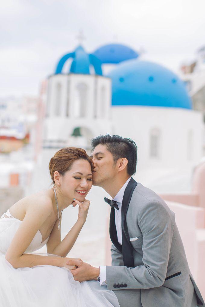 Xan & Natalie Santorini Engagement by Ian Vins - 004