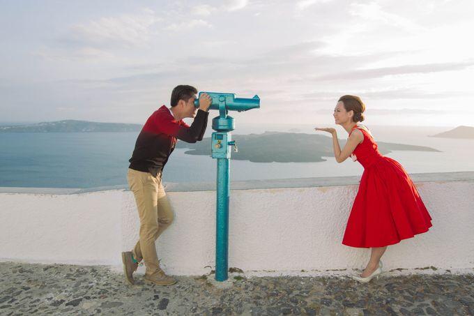 Xan & Natalie Santorini Engagement by Ian Vins - 026