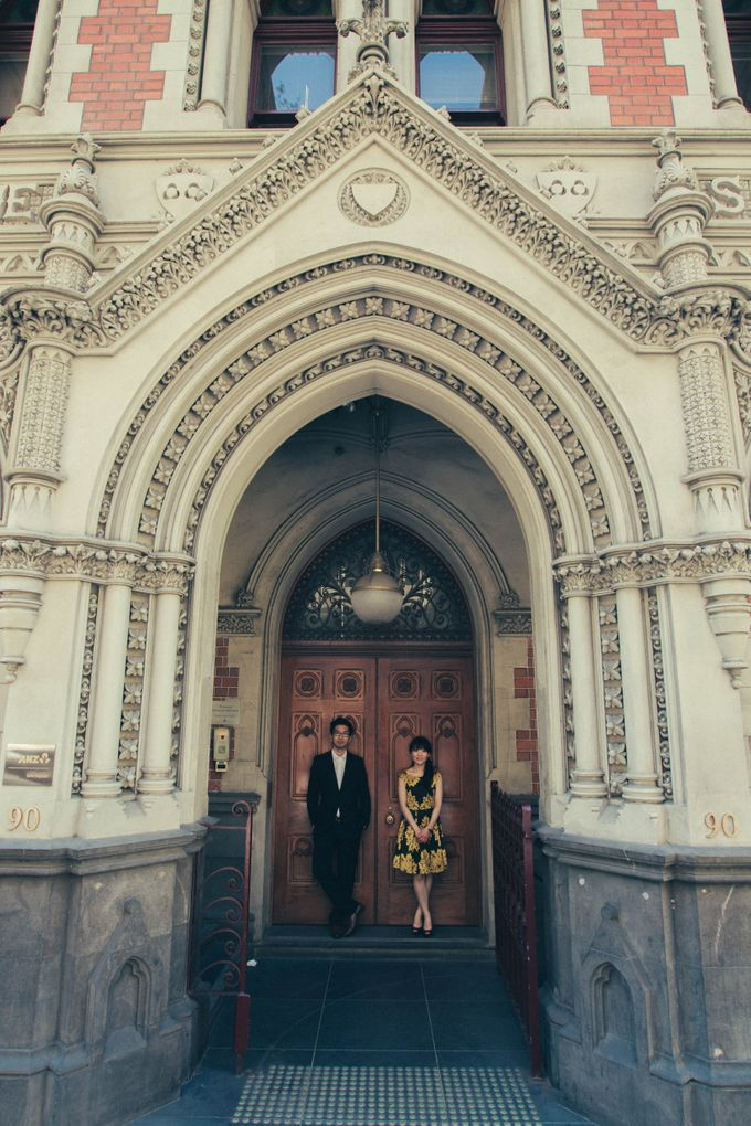 Rio & Vince Melbourne Engagement by Ian Vins - 025