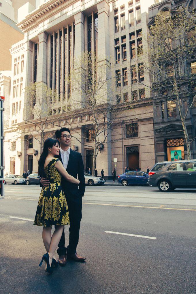 Rio & Vince Melbourne Engagement by Ian Vins - 022