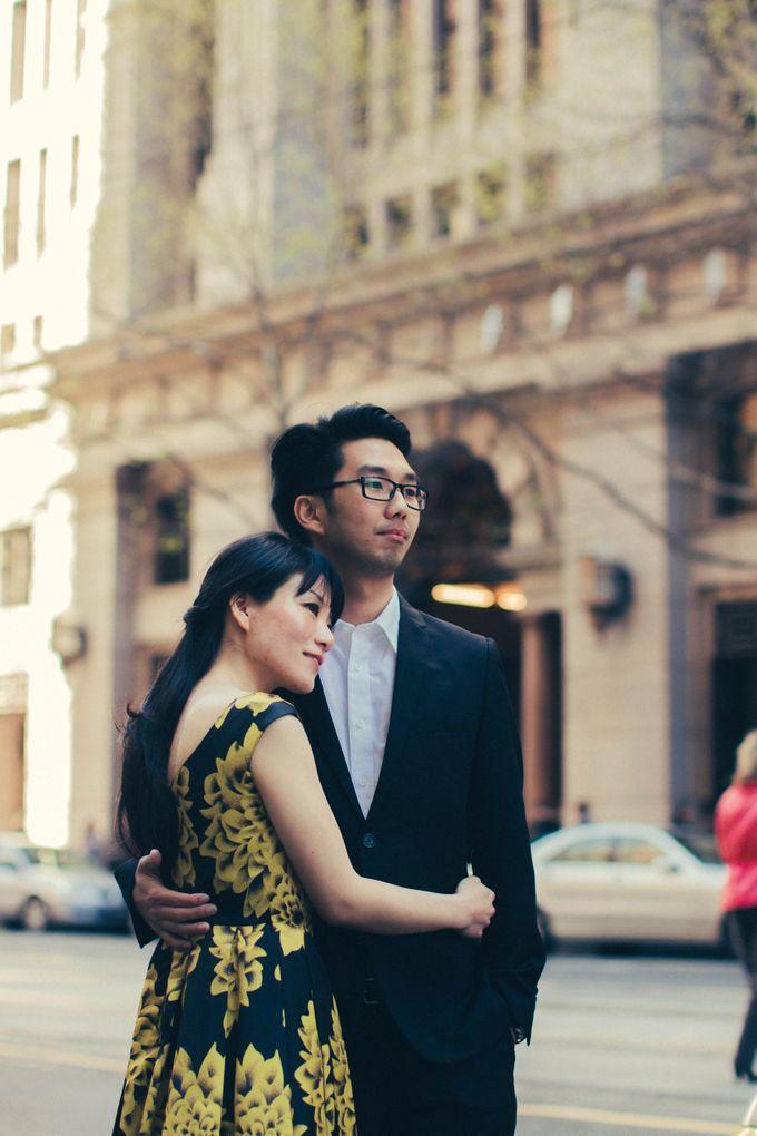 Rio & Vince Melbourne Engagement by Ian Vins - 021