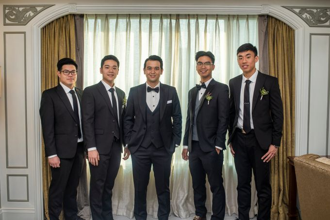 The Wedding of Arnold & Felicita by Shangri-La Hotel - 008