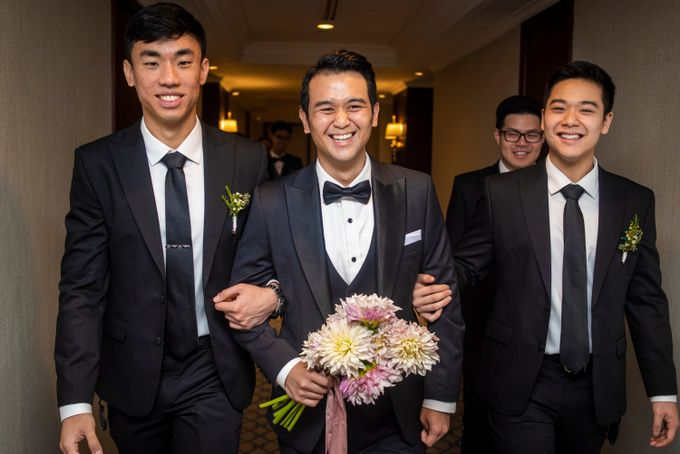 The Wedding of Arnold & Felicita by Shangri-La Hotel - 009
