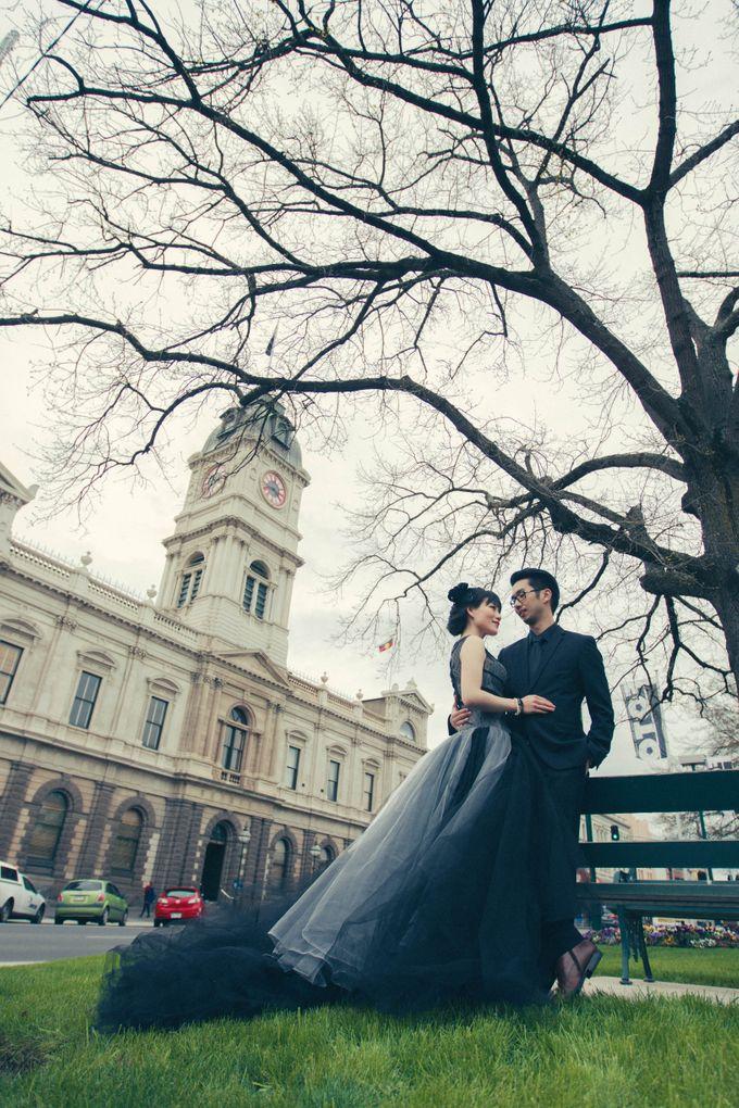 Rio & Vince Melbourne Engagement by Ian Vins - 030
