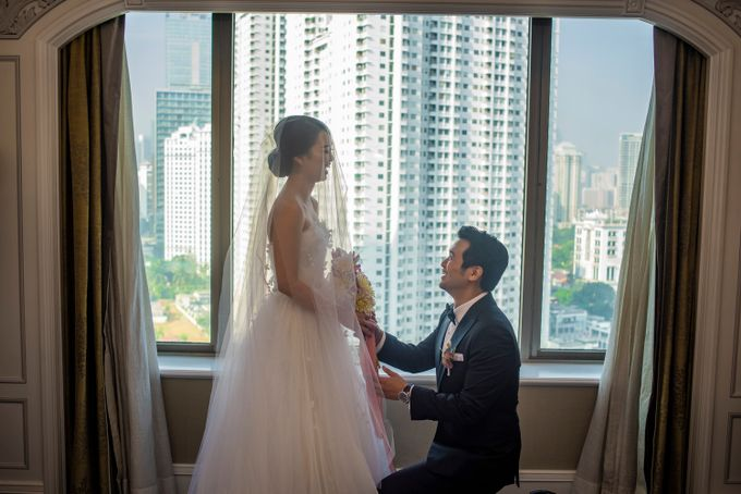 The Wedding of Arnold & Felicita by Shangri-La Hotel - 012