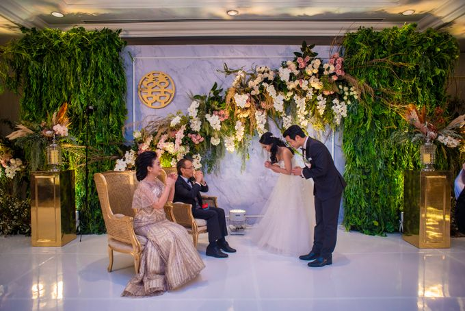 The Wedding of Arnold & Felicita by Shangri-La Hotel - 015
