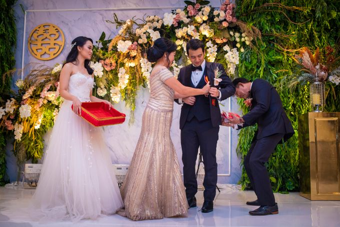 The Wedding of Arnold & Felicita by Shangri-La Hotel - 016