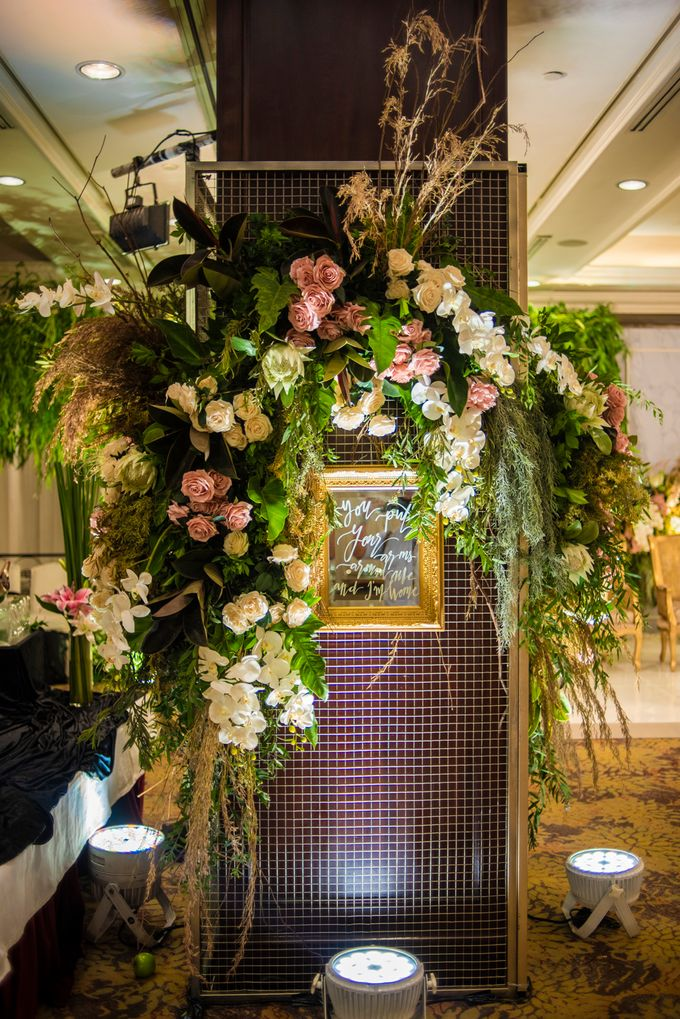 The Wedding of Arnold & Felicita by Shangri-La Hotel - 019