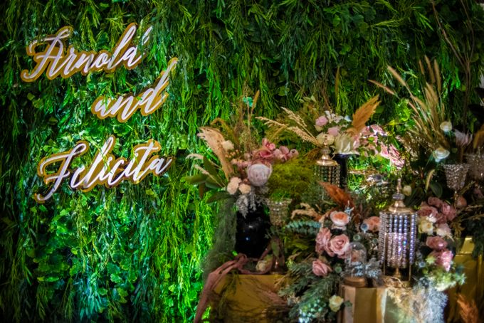 The Wedding of Arnold & Felicita by Shangri-La Hotel - 021