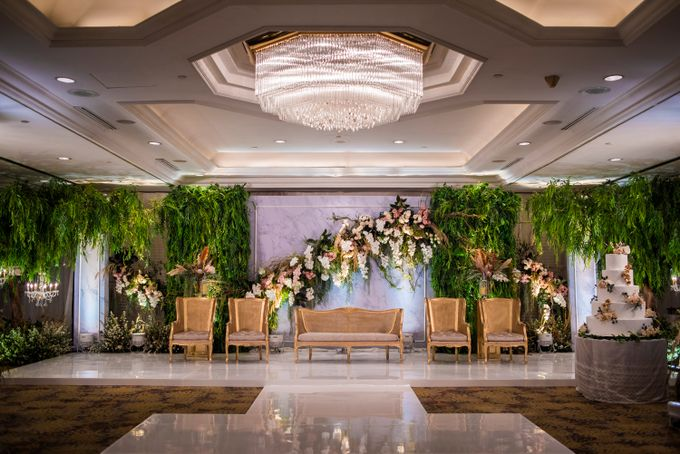 The Wedding of Arnold & Felicita by Shangri-La Hotel - 022