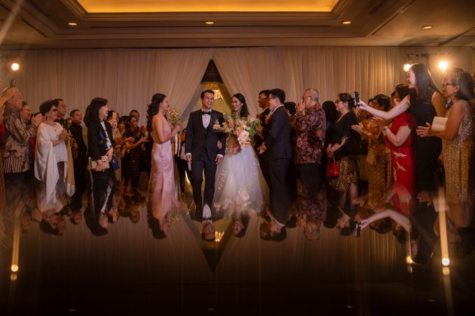 The Wedding of Arnold & Felicita by Shangri-La Hotel - 023