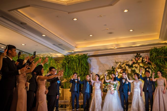 The Wedding of Arnold & Felicita by Shangri-La Hotel - 025