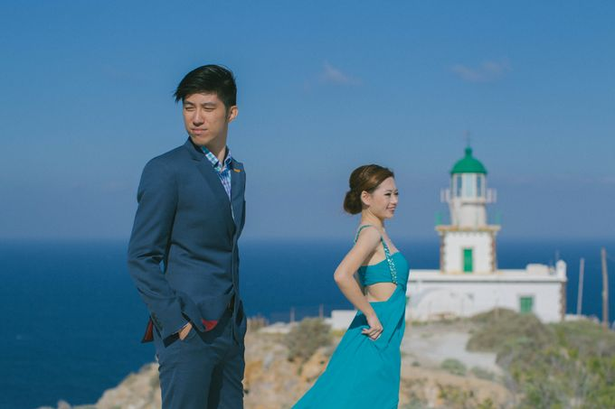 Xan & Natalie Santorini Engagement by Ian Vins - 029