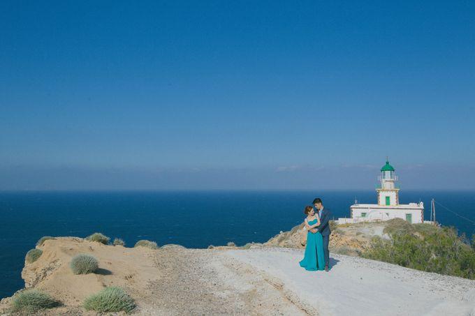 Xan & Natalie Santorini Engagement by Ian Vins - 028