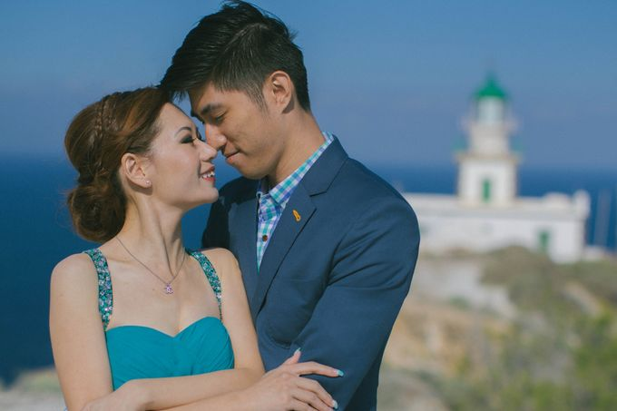 Xan & Natalie Santorini Engagement by Ian Vins - 031