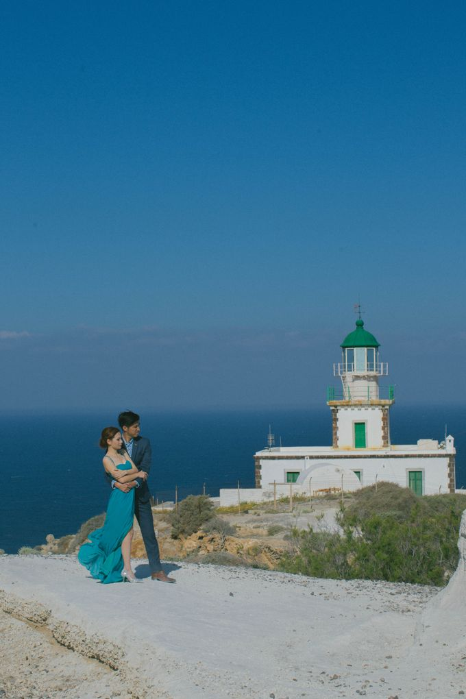 Xan & Natalie Santorini Engagement by Ian Vins - 030